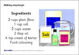 printable playdough recipes playdough recipe sheets sb763 sparklebox