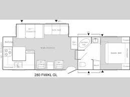 2006 keystone cougar floor plans used 2006 keystone rv springdale 280fwiklgl fifth wheel at seacoast