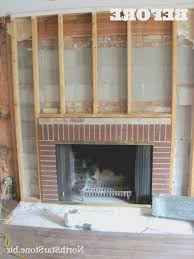 fireplace how to cover old brick fireplace how to cover an old