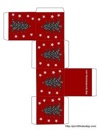 free printable christmas boxes