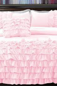 White Ruffled Comforter Bedroom Interesing Ruffle Bedding Furniture For Fabulous Bedroom