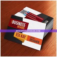 desain kartu nama yang bagus harga cetak kartu nama digital terbaru mesinpercetakan com