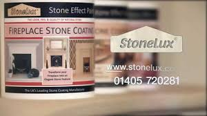 fireplace stone effect paint how to create a stone fireplace