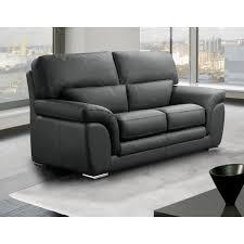 canape 2 place cuir canapé fixe confortable design au meilleur prix cloe canapé cuir