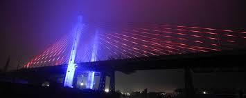 Bay Bridge Light Show Governor Cuomo Unveils U201cnew York Harbor Of Lights U201d With