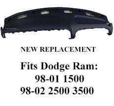dashboard dodge ram 1500 replacement buy 1998 2001 dodge ram 1500 replacement dashboard top dashpad