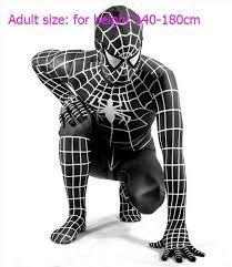 Spiderman Costume Halloween Spandex Lycra Zentai Spiderman Cosplay Halloween Costume Men