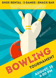bowling flyer template free bowling match flyer template free