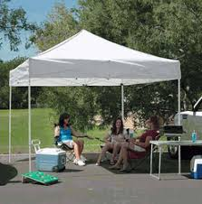 Awning Tent Ez Pop Up Canopy 10 X 10 Z Shade With Awning Canopy Tent 600d