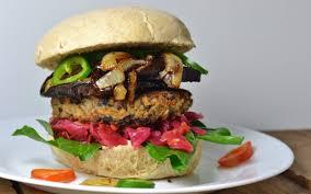 black bean garden burgers on homemade buns vegan one green planet