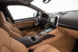 porsche suv 2015 interior 2016 porsche cayenne turbo s gts first drive motor trend