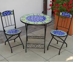 Mosaic Patio Table And Chairs 457 Best Mosaic Furniture Images On Pinterest Mosaic Mosaic