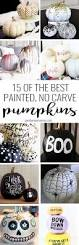 No Carve Pumpkin Decorating Ideas Best 25 Pumpkin Decorating Ideas On Pinterest Pumpkin