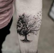tree on shoulder shortlist tattoos