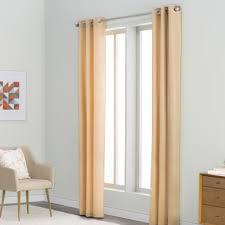 Sheer Grommet Curtains Langley Street Margaret Solid Semi Sheer Grommet Curtain Panels