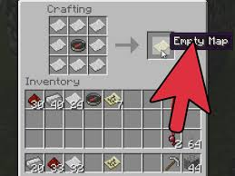 map crafting recipe how to a compass in minecraft 5 steps with pictures