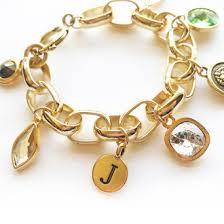 personalized gold silver charm bracelet jocelyn drye designs