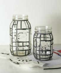 mondrian mason jars mason jar crafts love
