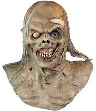 water zombie mask halloween over head scary ma113 rotted