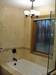 Bathtub In A Shower Chandeliers Above Bath Tubs