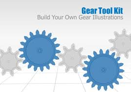 powerpoint template gears powerpoint template process circular