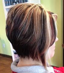 short cut tri color hair the full stack 30 hottest stacked haircuts bobs hair style and