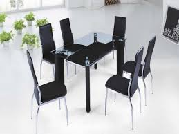 Best  Black Glass Dining Table Ideas On Pinterest Glass Top - Designer kitchen table
