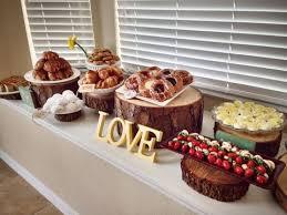 kitchen tea food ideas 40 creative and rustic bridal shower ideas happywedd com