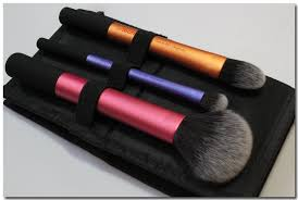 real techniques travel essentials brush set review youtube