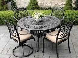 Metal Retro Patio Furniture - patio 57 metal patio table retro metal patio table and chairs