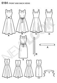 pattern review new look 6184 new look 6184 misses dress