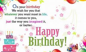 wish you a happy birthday words texted wishes card images