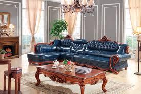 Buy Living Room Set European Leather Sofa Set Living Room Furniture China Wooden Frame