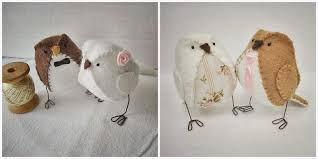 little bird wedding cake toppers handmade and hitched