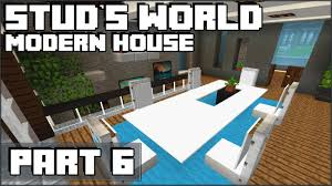 minecraft kitchen and dining table stud u0027s world 70 youtube