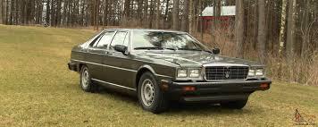 1985 maserati biturbo specs maserati quattroporte upscale ultra excellent condition
