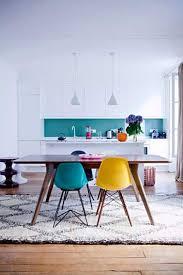 cuisine bleu turquoise peinture crédence bleu turquoise dans cuisine blanche