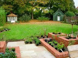 raised brick planters landscape design ideas pinterest brick