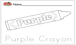 printable crayon coloring pages 5965 and indian red page