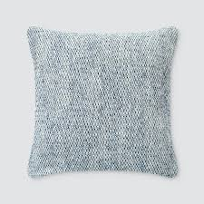 Navy Blue Decorative Pillows Cobalt Blue Throw Pillows With Tweed Pattern U2013 The Citizenry