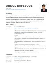sle resume formats for experienced it support engineer resume sles visualcv resume sles database