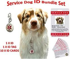 service id tag cards personalized and