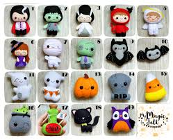 Halloween Themed Baby Shower by Halloween Ornaments Set Of 15 Cute Halloween By Mymagicfelt