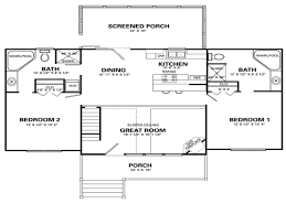 simple 4 bedroom house floor plans simple house designs 2 4