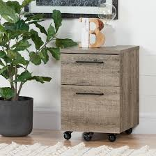 munich 2 drawer mobile file cabinet weathered oak south