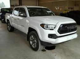 wrecked toyota trucks for sale salvage toyota tacoma cars for sale and auction