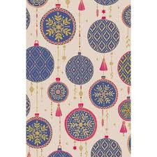 luxury christmas wrapping paper luxury purple baubles christmas wrapping paper by stewo gifts