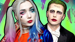 harley quinn squad makeup tutorial ft the joker youtube