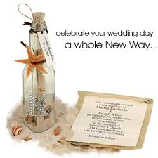 message in a bottle wedding invitations send a message invitation in a bottle hansonellis