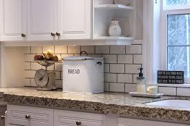 kitchen with subway tile backsplash will d i y for subway tile forever cottage